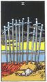 10 карт Таро , которые указывают на оскорбительные отношения S10