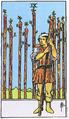 10 карт Таро , которые указывают на оскорбительные отношения W09